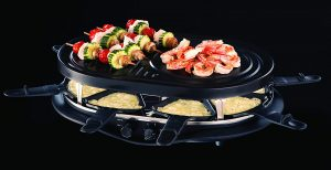 Russell Hobbs 21000-56 Appareil Raclette Multifonction Fiesta 1200W